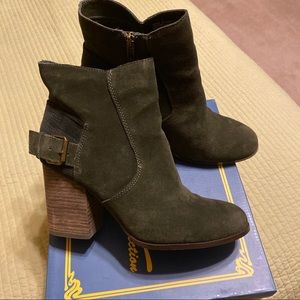 Sbicca forest green bootie